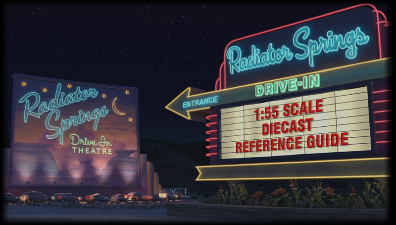 Cars Drive In Gallery Free Reference Guide For Characters From The